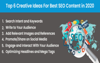 Top 6 Creative Ideas For Best SEO Content in 2020